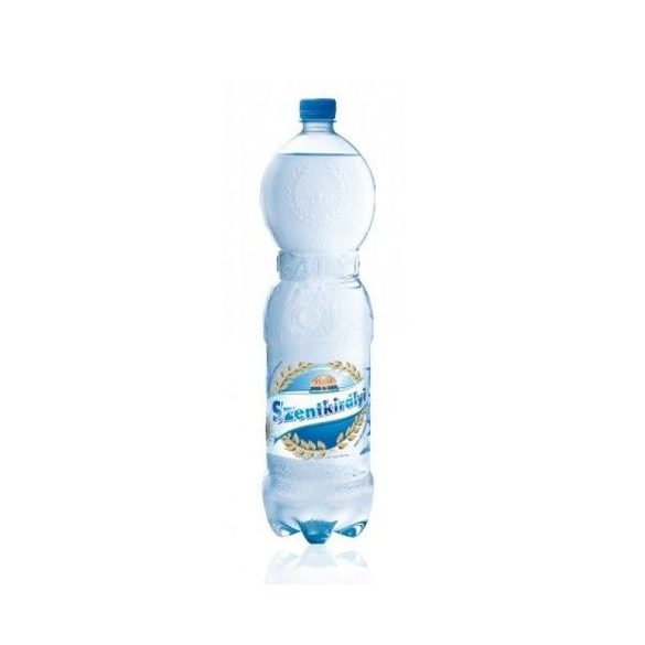 Szentkirályi  pH7,4 natural mineral water 1,5l sparkling in PET bottle