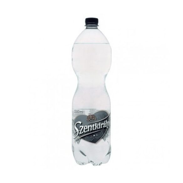 Szentkirályi  pH7,4 natural mineral water 1,5l sparkling in PET bottle