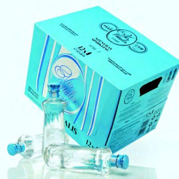 Vis Vitalis szénsavas ásványvíz 0,6l PET palackban