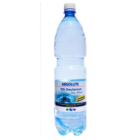 Absolute 125 Deutérium Water Balance - reduced deuterium 1,5l still water