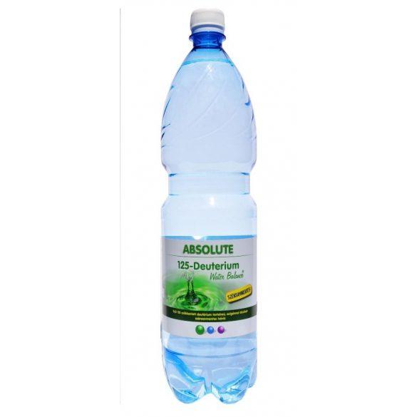 Absolute 125 Deutérium Water Balance - csökkentett deutériumtartalmú 1,5l mentes víz