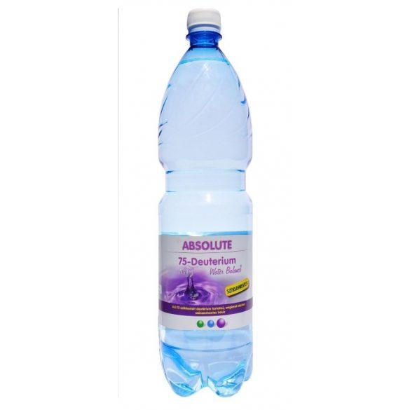 Absolute 75 Deutérium Water Balance - csökkentett deutériumtartalmú 1,5l víz