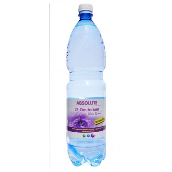 Absolute 75 Deutérium Water Balance - reduced deuterium 1,5l still water