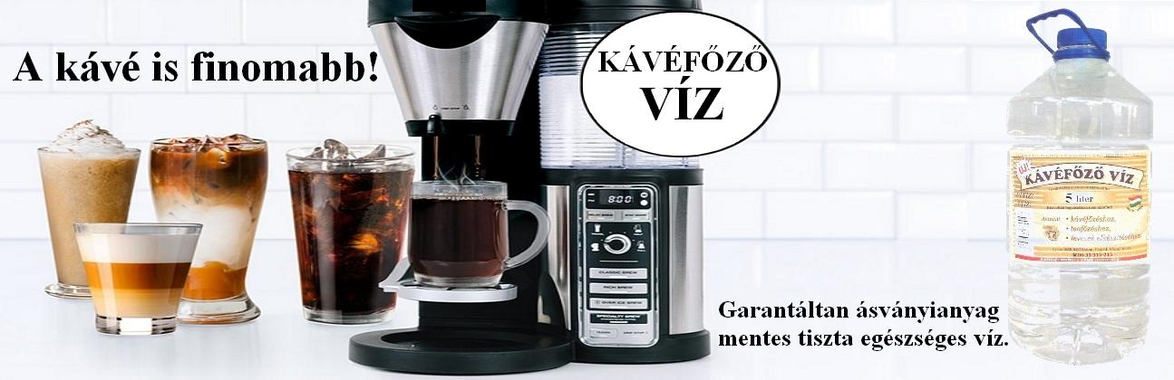 Kávéfőzővíz